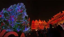 La Navidad en Bruselas Imagen de archivo