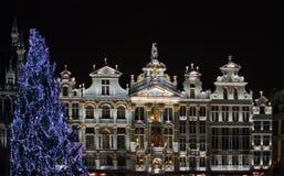 La Navidad en Bruselas Fotos de archivo