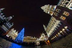 La Navidad en Bruselas Fotos de archivo libres de regalías