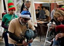 La Navidad en Cartagena imagen de archivo