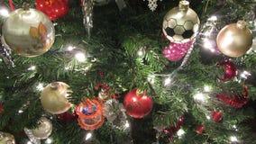 La Navidad en casa almacen de metraje de vídeo