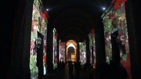 La Navidad en Caserta almacen de metraje de vídeo