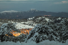 La Navidad en Chipre Foto de archivo