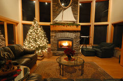 La Navidad en el noroeste Fotos de archivo