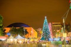 La Navidad en el parque Imágenes de archivo libres de regalías