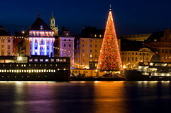 La Navidad en Estocolmo. Imágenes de archivo libres de regalías