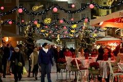 La Navidad en la fractura, Croacia Fotografía de archivo libre de regalías