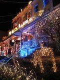 La Navidad en Hampden-Baltimore Fotografía de archivo libre de regalías