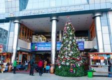 La Navidad en Katmandu, Nepal Fotografía de archivo libre de regalías