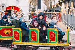 La Navidad en Klagenfurt, Austria, Europa Fotos de archivo libres de regalías