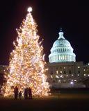 La Navidad en la C.C. de Washington foto de archivo libre de regalías
