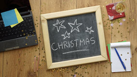La Navidad en la oficina Imagenes de archivo