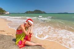 La Navidad en las zonas tropicales imagen de archivo libre de regalías