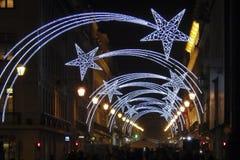 La Navidad en Lisboa Foto de archivo libre de regalías