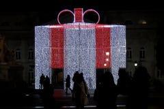 La Navidad en Lisboa Imagen de archivo libre de regalías