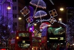 La Navidad en Londres Foto de archivo libre de regalías