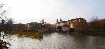 La Navidad en Metz Imagen de archivo libre de regalías