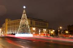 La Navidad en Moscú, Rusia Fotos de archivo libres de regalías
