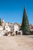 La Navidad en Nazaret Imagen de archivo libre de regalías