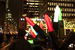 La Navidad en New York City imágenes de archivo libres de regalías