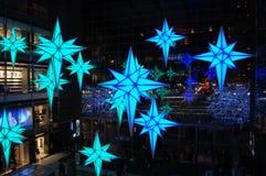 La Navidad en New York City Imagen de archivo