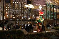 La Navidad en New York City Imagen de archivo libre de regalías