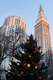 La Navidad en Nueva York Foto de archivo