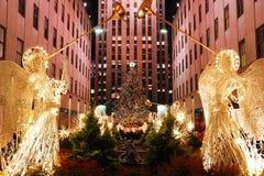La Navidad en Nueva York Imagen de archivo libre de regalías