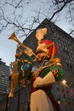 La Navidad en Nueva York los E.E.U.U. Imagen de archivo