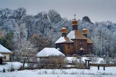 La Navidad en Pirohovo Imagenes de archivo