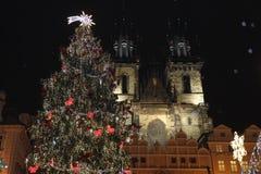 La Navidad en Praga fotografía de archivo libre de regalías