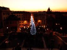 La Navidad en Roma Imagen de archivo