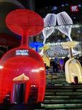 La Navidad en SHANGAI CHINA Imágenes de archivo libres de regalías