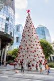 La Navidad en Singapur Fotografía de archivo libre de regalías