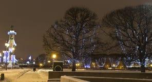 La Navidad en St Petersburg Fotos de archivo libres de regalías