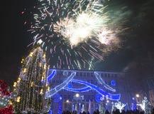 La Navidad en Varna Fotografía de archivo libre de regalías