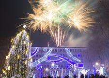 La Navidad en Varna Foto de archivo