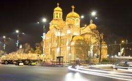 La Navidad en Varna Foto de archivo libre de regalías