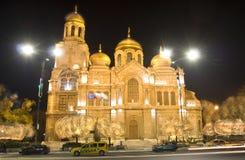 La Navidad en Varna Fotos de archivo