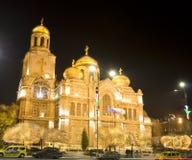 La Navidad en Varna Imagen de archivo libre de regalías