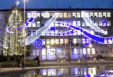 La Navidad en Varna Fotografía de archivo