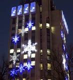 La Navidad en Varna, Bulgaria Fotos de archivo libres de regalías