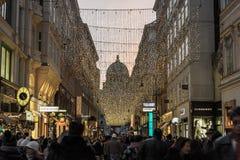 La Navidad en Wien fotografía de archivo