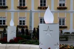 La Navidad en Zagreb, Croacia Fotografía de archivo