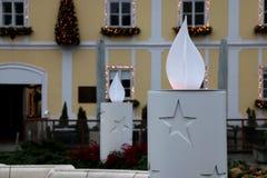 La Navidad en Zagreb, Croacia Fotografía de archivo libre de regalías
