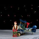 La Navidad está dando Foto de archivo libre de regalías