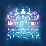 La Navidad está viniendo Imágenes de archivo libres de regalías