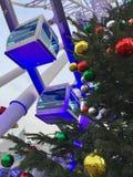 La Navidad Ferris Wheel Fotografía de archivo