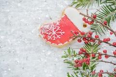 La Navidad festiva, salvapantallas del ` s del Año Nuevo, postal, fondo Fotografía de archivo