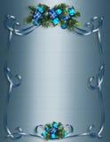 La Navidad, fondo de Hanukkah, frontera o marco ilustración del vector